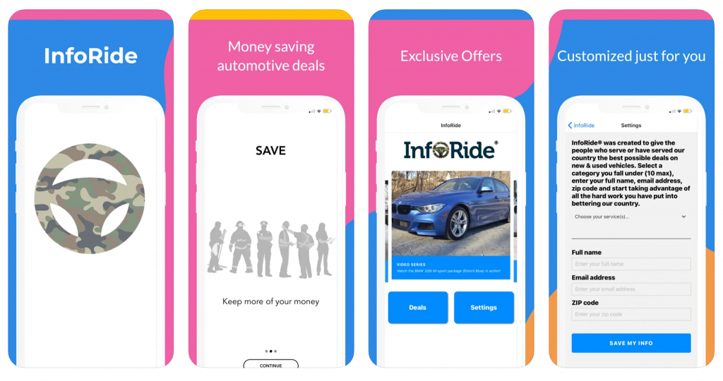 Car Deals App For Essential Workers